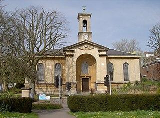 Church of Holy Trinity, Hotwells church in Bristol, UK