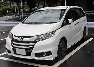 Honda Odyssey (international) - Image: Honda ODYSSEY ABSOLUTE EX (RC1) front