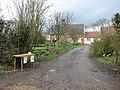 Honesty stall by entrance to Gresham Farm - geograph.org.uk - 1779526.jpg
