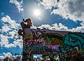 Hope wall is a Graffiti park located in San Antonio, Texas.jpg