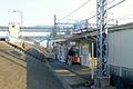 Horikiri station - east exit - march16-2014.jpg