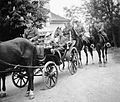 Horse, coach, soldier, tableau, carriage, teamster, uniform, rider Fortepan 2710.jpg