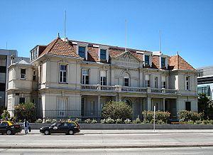 British Hospital (Montevideo) - Hospital Británico, old building