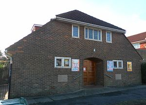 Hounsom Memorial United Reformed Church, Hove - A church hall was built in 1951.