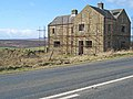 House under reconstruction beside the A68 - geograph.org.uk - 357638.jpg