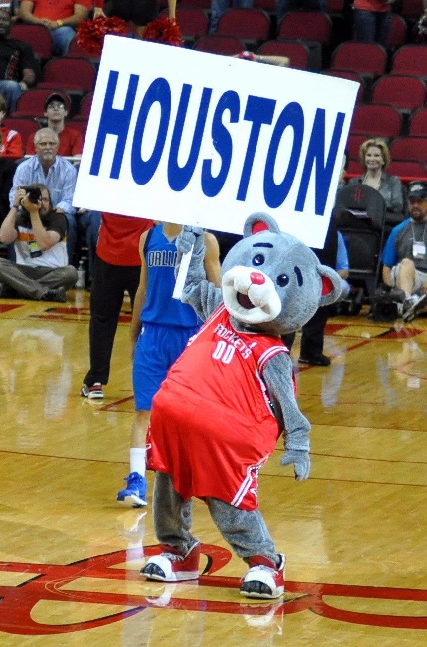 Houston rockets mascot