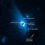 Hubble image of dust structure surrounding the young star HR 4796A.png