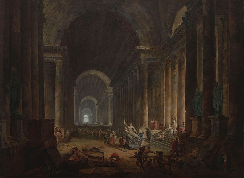 File:Hubert Robert - 1773 - Finding of the Laocoon.jpg