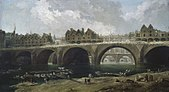 Hubert Robert - Demolition of the Houses on the Pont Notre-Dame in 1786 - WGA19597.jpg