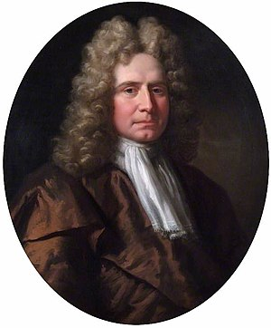 Humphry Morice (Governor of the Bank of England) - A painting of Humphry Morice by Godfrey Kneller