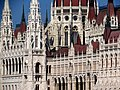 Hungarian Parliament Building from across the Danube, 2013 Budapest (483) (13226738245).jpg