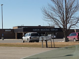 Huron Regional Airport in South Dakota, United States