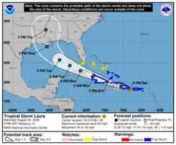 Hurricane Laura 2020 advisory 12.png