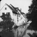 Hus vid floden Neckar - TEK - TEKA0118523.tif