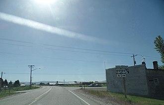 Idaho State Highway 36 - Eastern terminus of SH-36