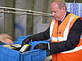 ID card database destroyed - Damian Green prepares to shred the disks.jpg