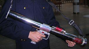 Impulse Fire Extinguishing System - The IFEX handheld impulse gun