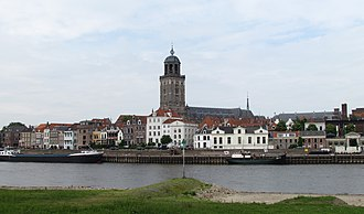 Deventer - Deventer skyline; the St Lebuinus Church is shown in the centre