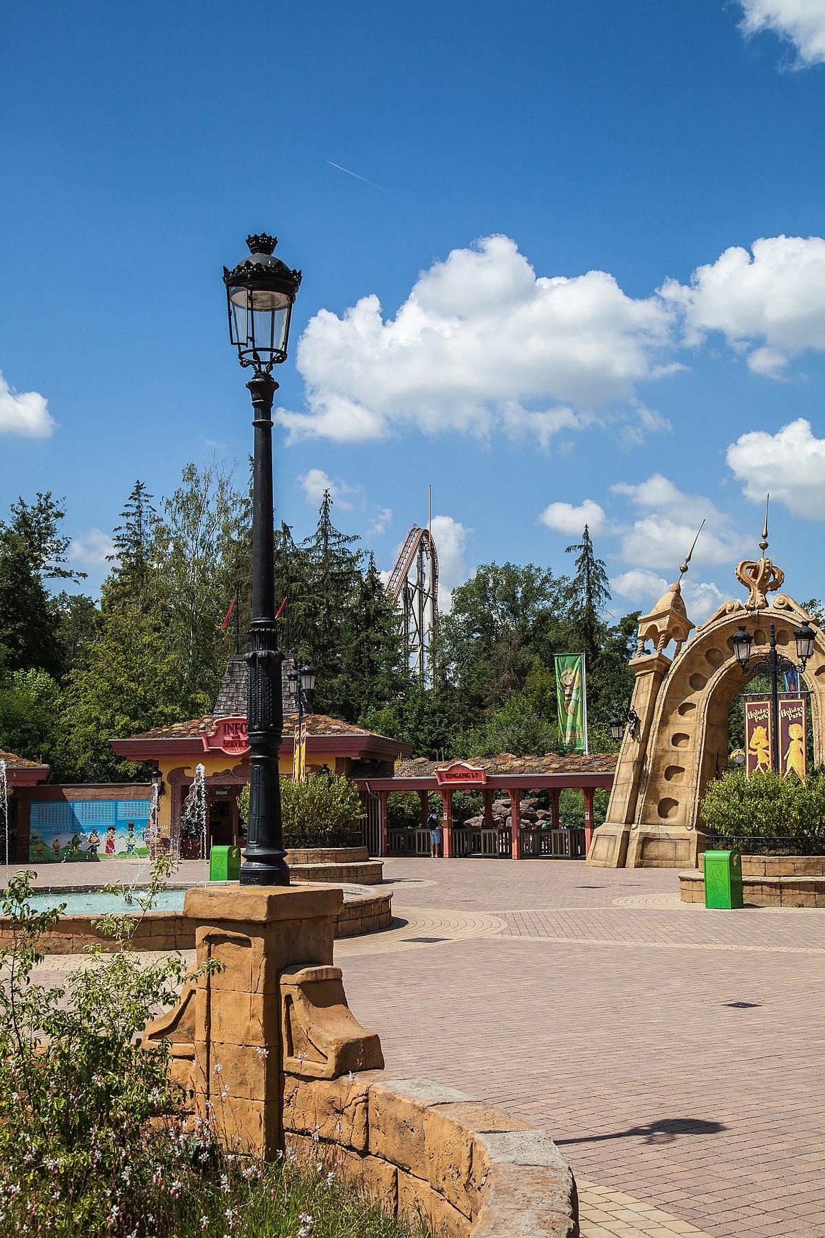 Holiday park achterbahn
