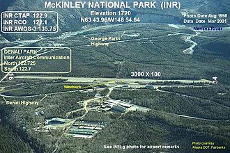 McKinley National Park Airport - Image: INR h