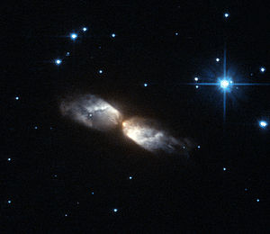 Protoplanetary nebula - Protoplanetary nebula known as IRAS 20068+4051 taken by Hubble's Advanced Camera for Surveys.
