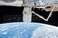 ISS-54 Dragon SpaceX CRS-13 docked at Space Station.jpg