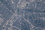 ISS-56 Winnipeg, Manitoba and the Assiniboine and Red Rivers.jpg