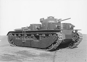 "Tanks in the Soviet Union - Vickers A1E1 ""Independent"""