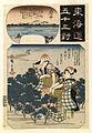 Ibaya Kyubei - Tokaido gojusan tsui - Walters 95562.jpg