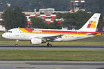 Iberia, EC-KUB, Airbus A319-111 (19667046426).jpg