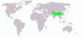 Ibidorhyncha struthersii map.png