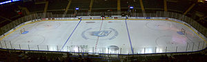 Family Arena -  The Family ice set up for the St.Charles Chill.