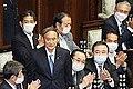 Ichiro Aisawa(Former Viceminister for Foreign Affairs), Seiichiro Murakami(Former Minister of State), Keiji Furuya, Yoshihide Suga, Kazunori Tanaka, Hiroshi Kajiyama(MInister of Economy), Taku Eto(Former Minister of Agriculture).jpg