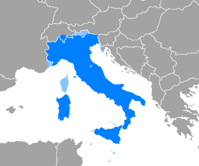 Use of the Italian language in Europe