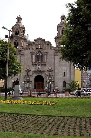 Miraflores District, Lima - Church of la Virgen Milagrosa