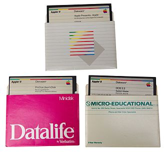 Disk II - A selection of Apple IIe software, intended to be read through the Disk II system