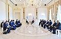 Ilham Aliyev met with President of Uzbekistan Shavkat Mirziyoyev, 2019 05.jpg
