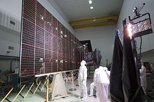 Solar panels on spacecraft - ''Juno'' is the second spacecraft to orbit Jupiter and the first solar-powered craft to do so.