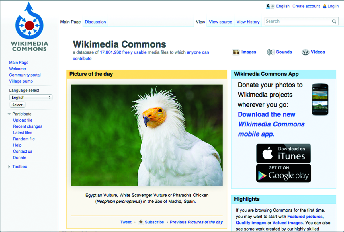 Illustrating Wikipedia, page 2, Commons main page.tif