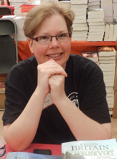 Picture of an author: Kristen Britain