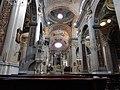 Imperia Oneglia, basilique Saint-Jean-Baptiste, vue vers le choeur.jpg