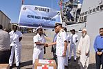 Indian Navy donates of relief aid to the victims of the Ambilobe Fire Disaster in Madagascar (2).jpg