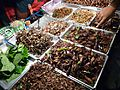 Insect vendor in Bangkok, Thailand.JPG