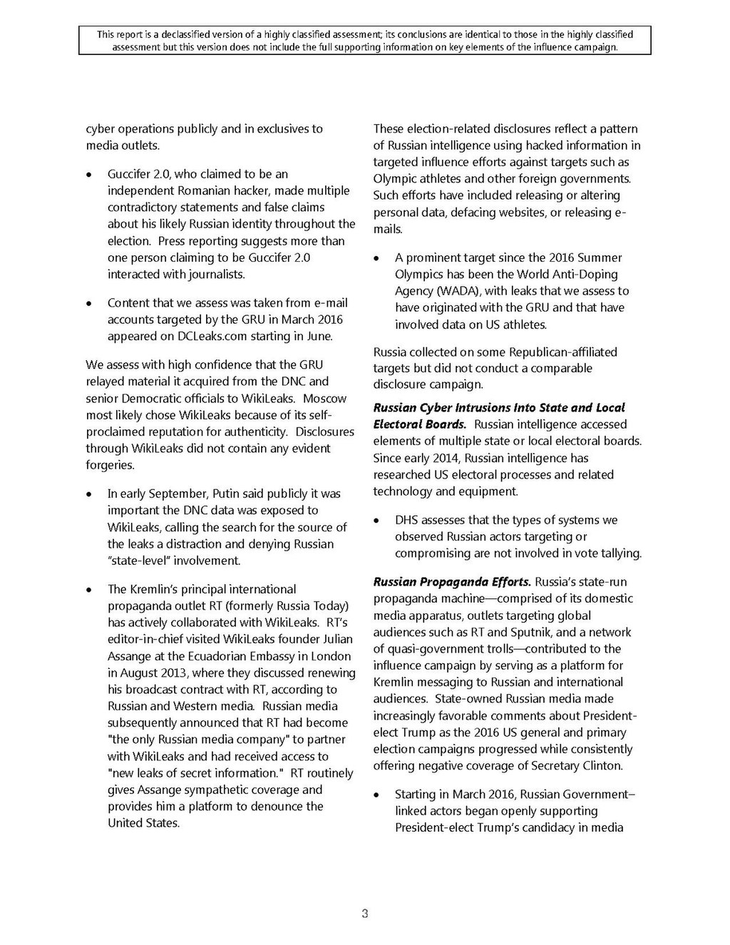 Page:Intelligence Community Assessment - Assessing Russian
