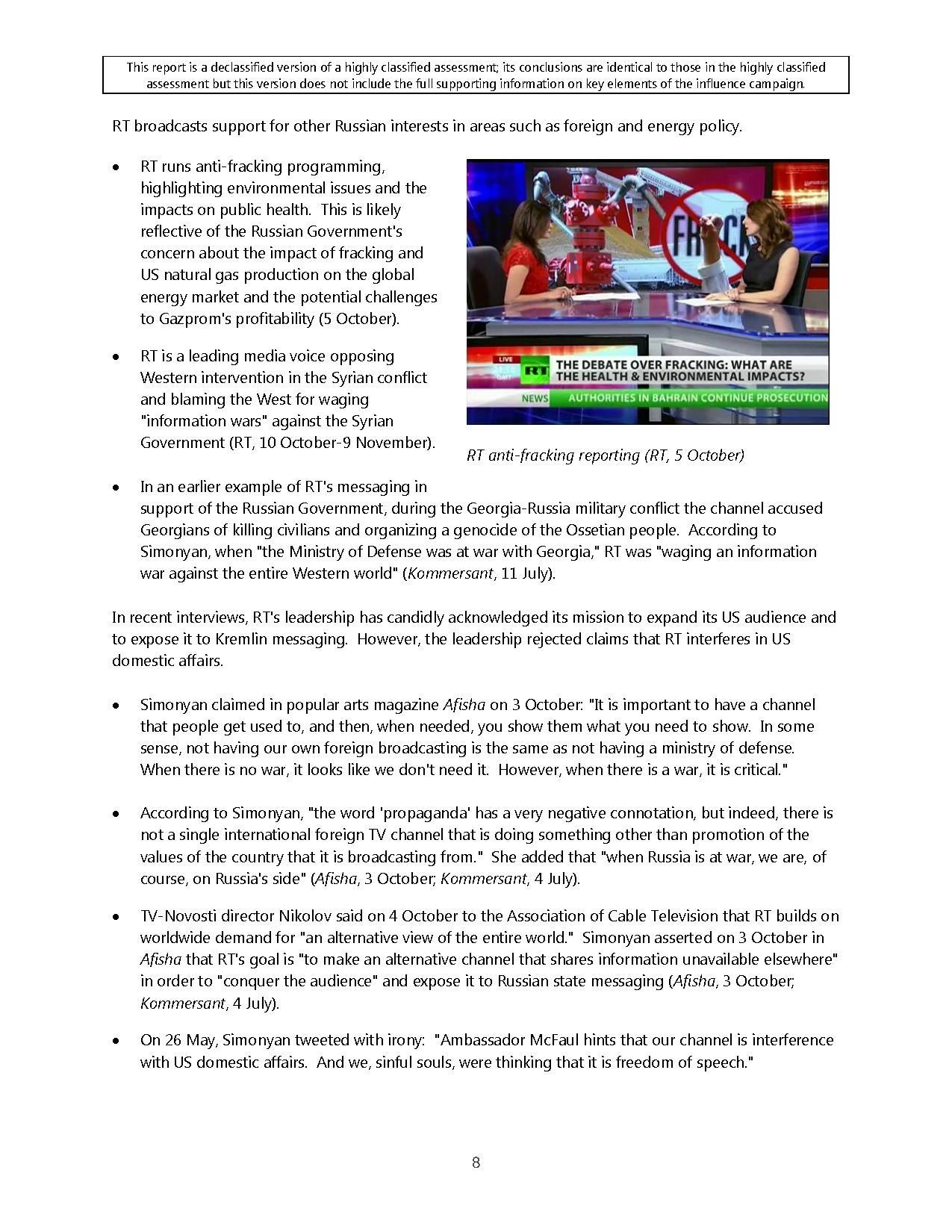 Page:ODNI Statement on Declassified Intelligence Community