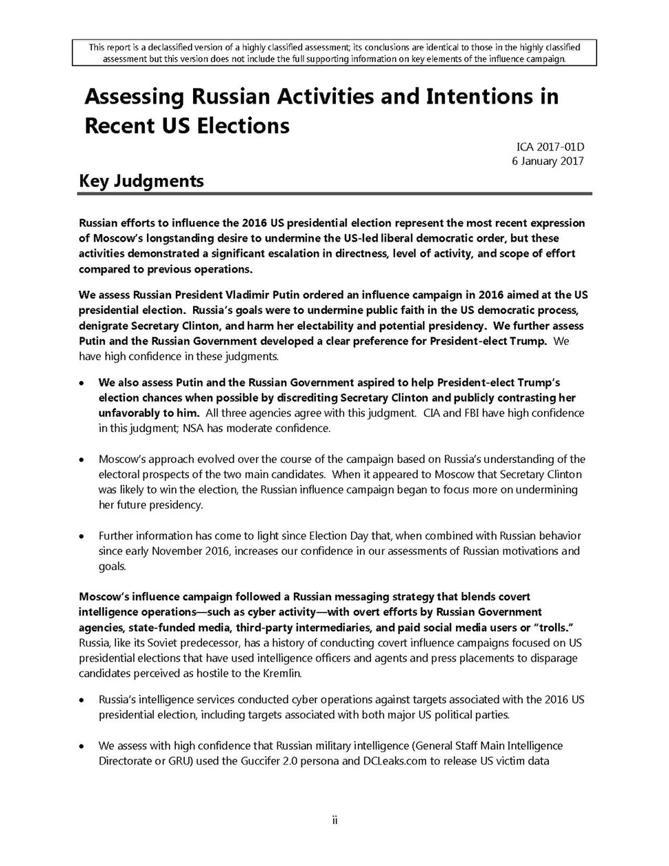 Intelligence Community Assessment - Assessing Russian Activities and Intentions in Recent US Elections.pdf&page=7