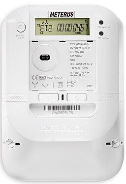 Intelligenter kWh-Zähler