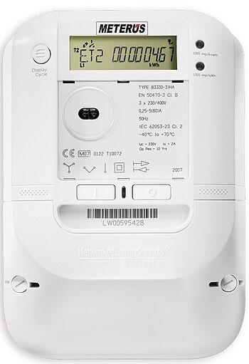Smart meter used by EVB Energie AG. Besides Au...