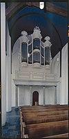 interieur, aanzicht orgel, orgelnummer 1203 - oudewater - 20349213 - rce
