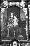 interieur kapel, schilderij zij-altaar - megen - 20152768 - rce